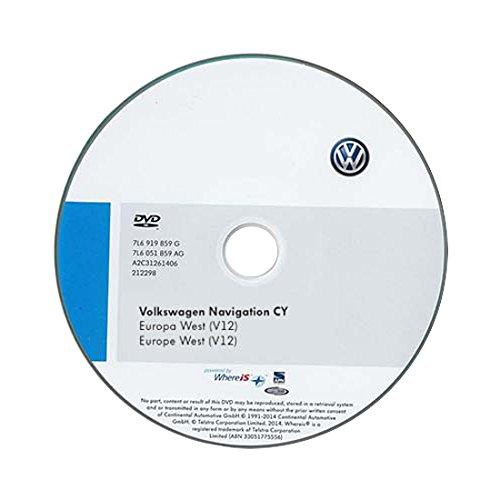 Volkswagen-1T0051859AH-DVD-ROM-fr-Navigationssystem-fr-RNS-510810-CY-Europa-West-V12