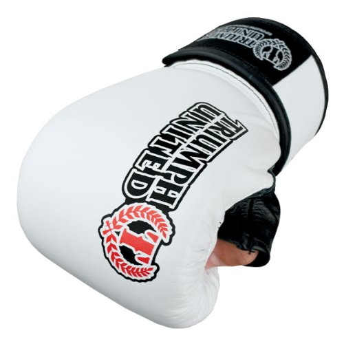 Triumph United Storm Trooper Bag Gloves, White, Medium (Triumph United Gloves compare prices)
