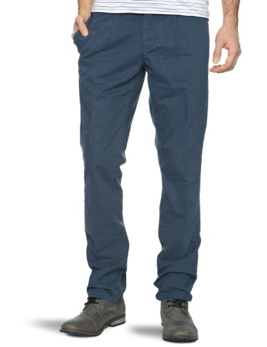 Original Penguin Slim Leg Chino Slim Men's Trousers Midnight Navy W34IN x L32IN