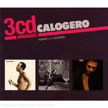Calogero - coffret 3 cd : pomme c - 3 - calogero - Zortam Music