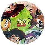 Toy Story Disney Pixar Birthday Party Dessert Plates 8 Count