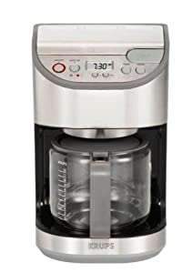Krups KM611D50 Precision Coffee Maker Dahlstrom Stainless