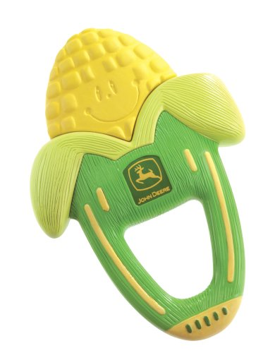 Details for The First Years John Deere Massaging Corn Teether by The First Years