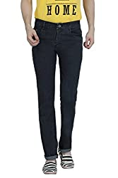 Louppee Jeans Men's Relaxed Jeans (Vkgroup-121_Dark Grey_28)
