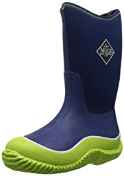 MuckBoots Hale Boot,Green/Navy,4 M US Big Kid