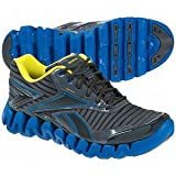 Reebok Men's Zigactivate Running Shoe,Gravel/Blue/Sun ,10.5 M US