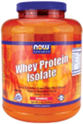 Whey Protein Isolate Strawberry 5 Pounds
