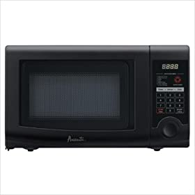 A .7cf Microwave 700 watts Blk