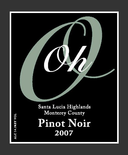 2006 Otter Cove Wines Monterey County Santa Lucia Highlands Pinot Noir 750 Ml
