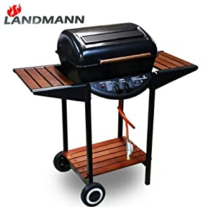 landmann lavastein gasgrill 12391 grillwagen grill bbq garten. Black Bedroom Furniture Sets. Home Design Ideas