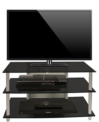 vcm tv m bel sindas silber schwarzglas com forafrica. Black Bedroom Furniture Sets. Home Design Ideas