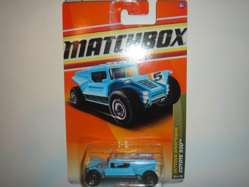 2011 Matchbox Outdoor Sportsman Coyote 500 Light Blue #81 of 100 - 1