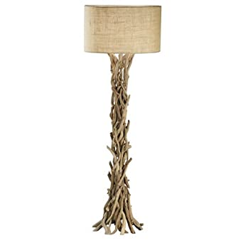 modern home nautical driftwood floor lamp household lamps amazon. Black Bedroom Furniture Sets. Home Design Ideas