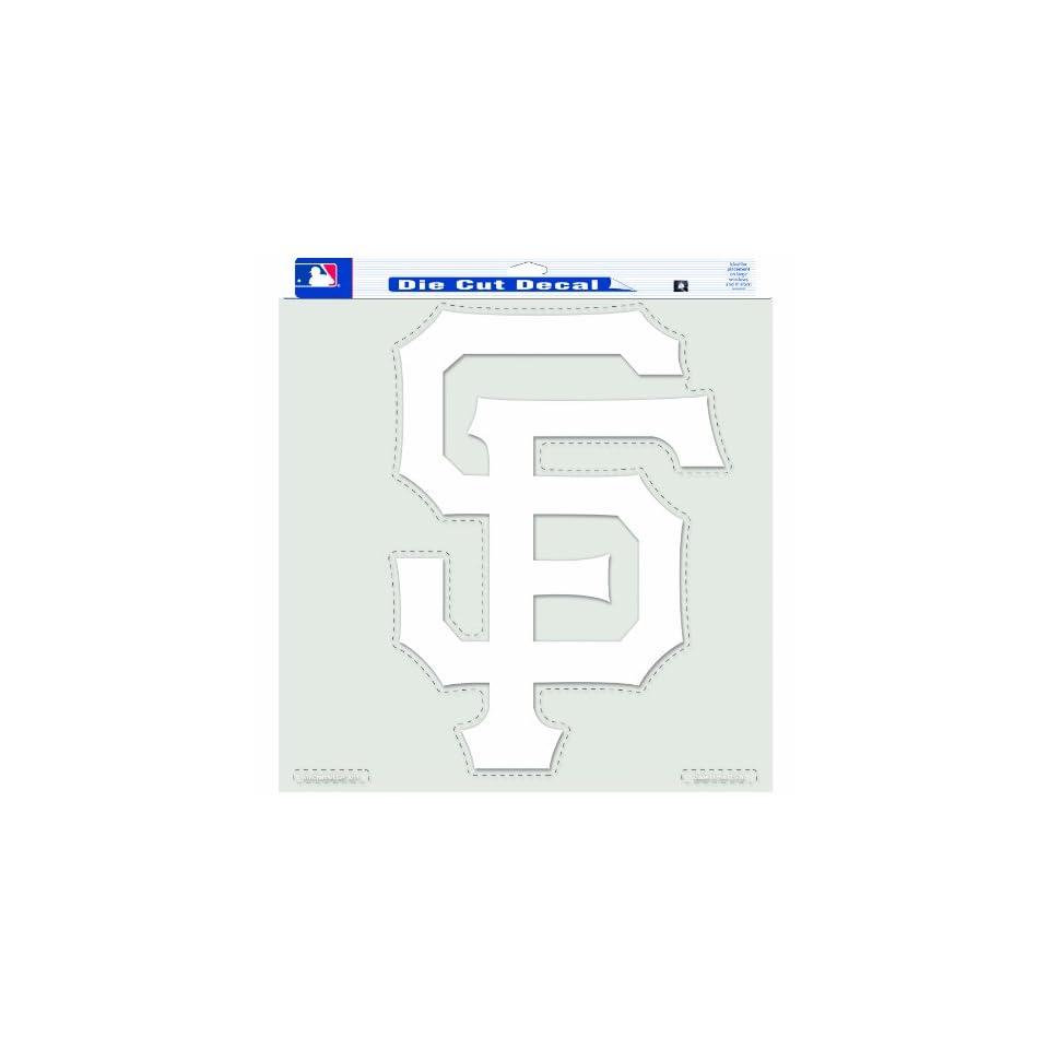 MLB San Francisco Giants   SF Logo   18 By 18 Inch Diecut Decal