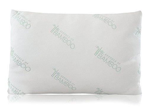 Home With Comfort Bamboo Pillow-Hotel Quality Pillow with Cool Bamboo Cover-Fiber Filled in the USA (Queen) (Iso Cool Pillow compare prices)
