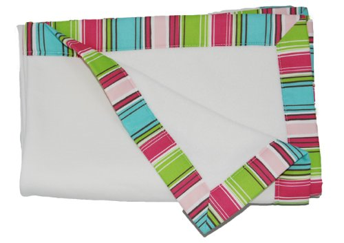 Organically Multi Stripe Cute Blanket, Pink