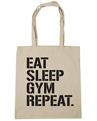 hippowarehouse-eat-sleep-gym-repeat-tote-shopping-gym-beach-bag-42cm-x38cm-10-litres