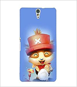 PrintDhaba Smiling Kitty D-2902 Back Case Cover for SONY XPERIA C5 ULTRA (Multi-Coloured)