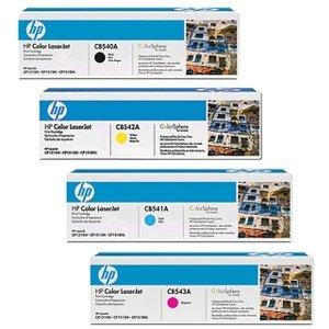 Set Of 4 Hp Original Hp 40a Cb540a Cb541a Cb542a Cb543a