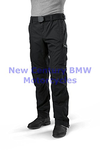 BMW Genuine Motorcycle Motorrad Unisex Summer Riding Pants Black L Large (Bmw Riding Gear compare prices)