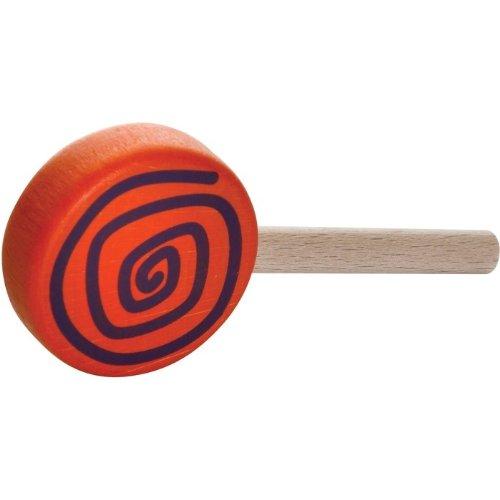 Erzi Lutscher Wirbel, Spielzeug-Lutscher, Holz-Lutscher,