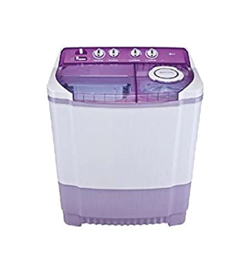 LG P8237R3SA Semi-automatic Top-loading Washing Machine (7.2 Kg, Mauve)