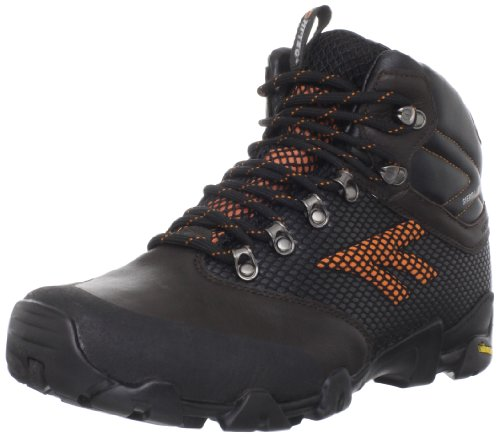 Hi-Tec Men's Sierra Trek Waterproof Hiking Boot,Cheviot/Burnt Orange/Black,13 M US