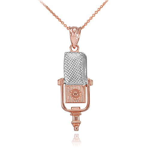 recording-microphone-music-studio-necklace-10k-two-tone-rose-gold