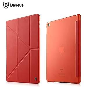C2f Baseus Pasen series y shape flip cover for iPad mini mini1 mini 2 mini 3 retina Red