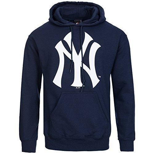 New York Yankees Majestic Cappuccio MLB Felpa Per Allenamento Con Cappuccio - 20160239, M