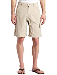 Mountain Khakis Men\'s Granite Creek Short Relaxed Fit, Ash, 31x9