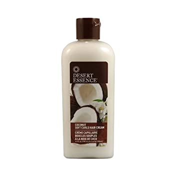 Desert Essence Soft Curls Hair Cream-Coconut