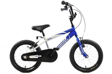 Rocky 40,6cm Roue de BMX pour garçon Bleu avec casque assorti Age 5+