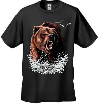Mens Judds Bear Shirt from Big Brother (Small, Black) #1526