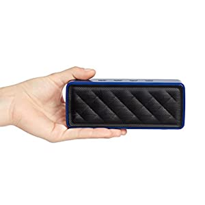 AmazonBasics Portable Bluetooth Speaker - Blue