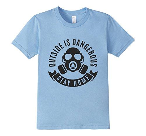 Kids-EmmaSaying-Outside-Is-Dangerous-Mask-Design-T-Shirt-Fun-Tee-Baby-Blue