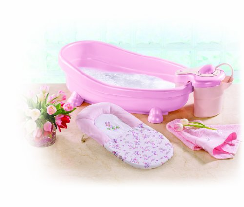 Summer Infant Soothing Tub Spa & Shower - Pink