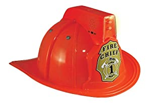 Get Real Gear Fire Chief Helmet with Lights and Sound