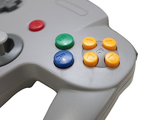3rd-Party-Classic-Retro-N64-Bit-USB-Wired-Controller-for-PC-and-MAC-Grey
