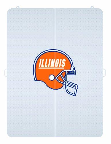 NCAA Illinois Fighting Illini Mascot Foldable Carpet Chairmat