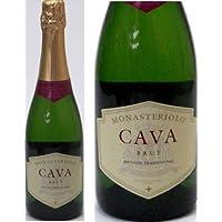 6本セット モナステリオーロ・カバ・ブリュット750mlスパークリングワイン(スペイン・辛口)750ml×6本