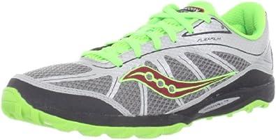 Saucony Men's Kinvara Tr Running Shoe,Silver/Green/Red,9 M US