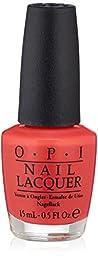 OPI Nail Polish, Cajun Shrimp, 0.5 fl. oz.