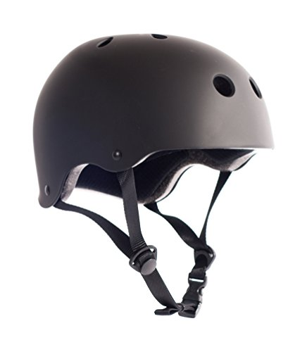 Critical Cycles Classic Commuter Bike and Skate Helmet, Medium/Large, Matte Black (Critical Cycles Helmet compare prices)