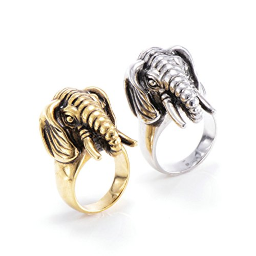 mens-316l-stainless-steel-elephant-vintage-punk-biker-ring-gold-size-r-1-2