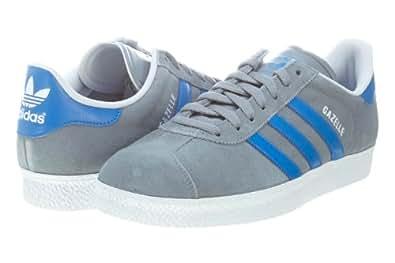 Amazon.com: adidas Gazelle II Men Shoes Street Stone / Blue Bird