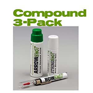 Snot Lube 3 Pack For Compounds by 30-06 OUTDOORS LLC
