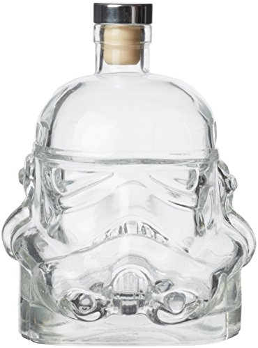 Thumbs Up Original Stormtrooper Carafe à décanter en verre, Verre, Transparent