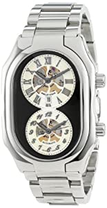 Philip Stein Men's 12A-SKB-SS Prestige Automatic Stainless Steel Bracelet Watch