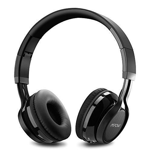 Casque Bluetooth Stéréo MPOW Thor, Casque Sans Fil Pliable avec Micro, suppression du bruit, compatible avec iPhone 6S, SE, Samsung Galaxy et d'autres appareils bluetooth